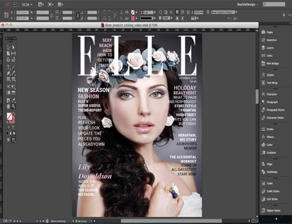 Adobe InDesign for business